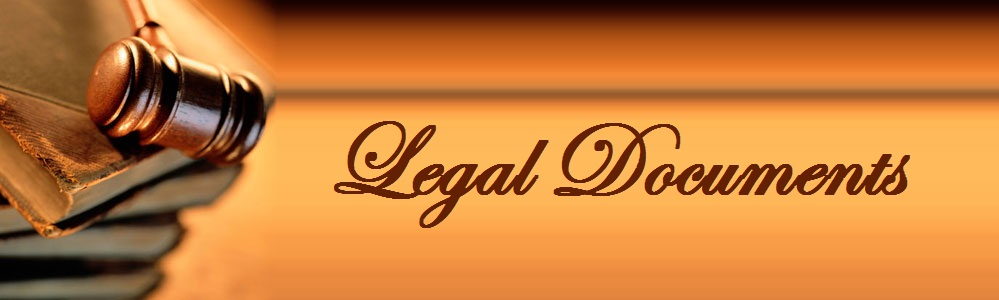 Legal Documents Glister Eduversity - Where to find legal documents